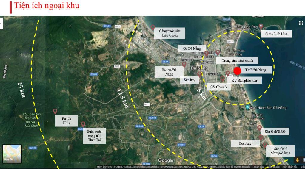 Tiện ích ngoại khu dự án TMS đà nẵng