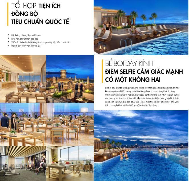 Tiện ích nội khu dự án căn hộ TMS Luxury Hotel Đà nẵng Beach