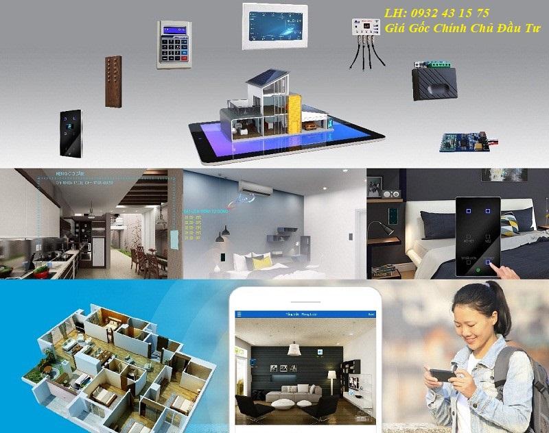 Các căn hộ monarchy điều khiển Smart Home