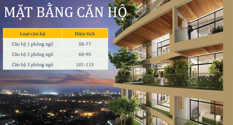 Mặt Bằng Căn HộPremier Sky Residences Đà Nẵng