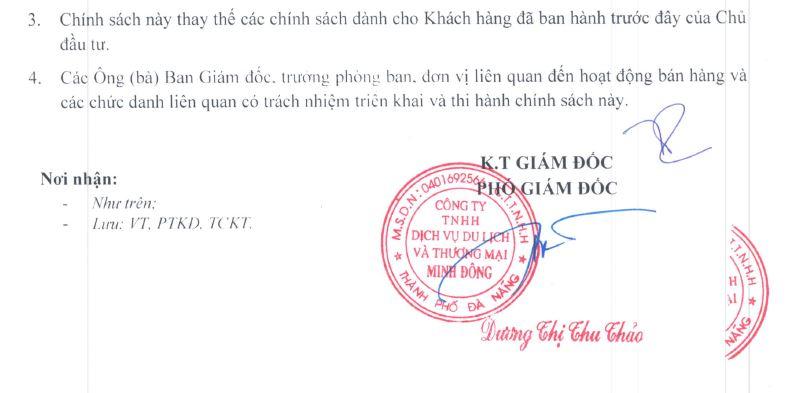 Thanh Toán Căn Hộ Premier Sky Residences