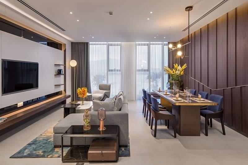 Phòng khách căn hộ risemount đà nẵng