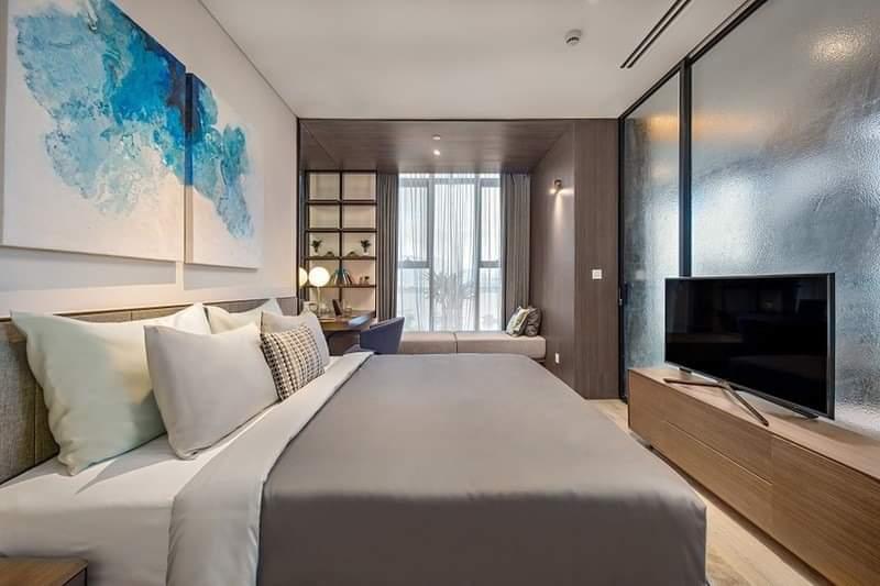 Phòng ngủ căn hộ Risemount đà nẵng