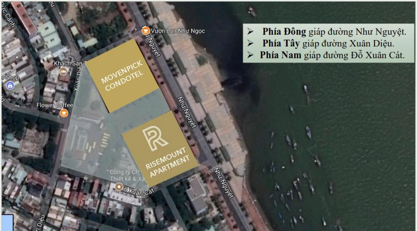 Vị trí căn hộ Risemount Apartment đà nẵng