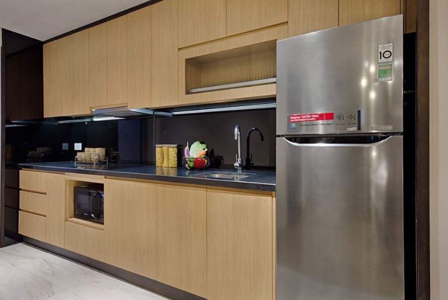 Phòng bếp căn hộ wyndham soleil đà nẵng