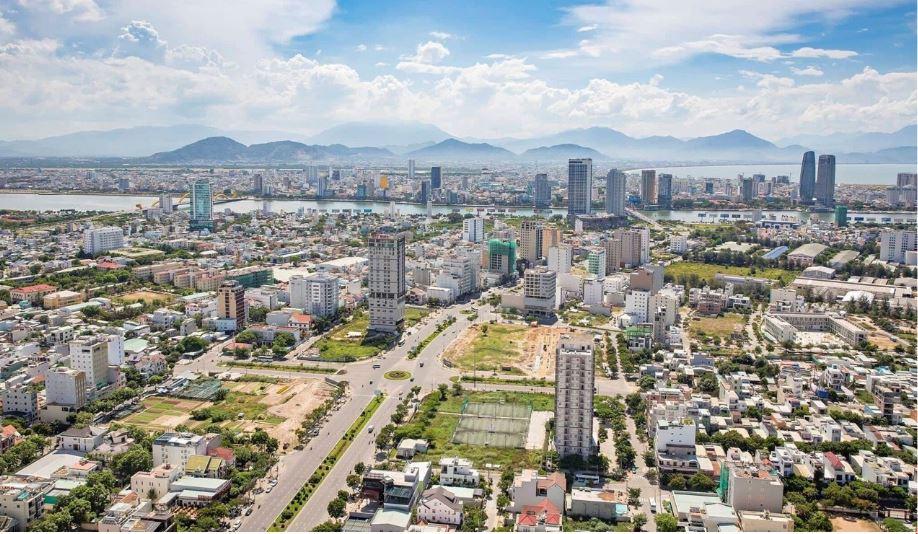 View Hướng Tây Trung Tâm Thành Phố Sông Hàn