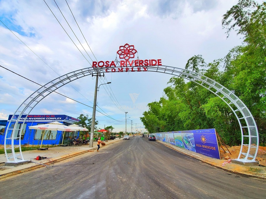 Cổng Chào Khu Đô Thị Rosa Riverside Complex Đà Nẵng Hội An