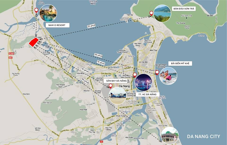 Các tiện ích ngoại khu dự án Dragon Smart City Đà nẵng