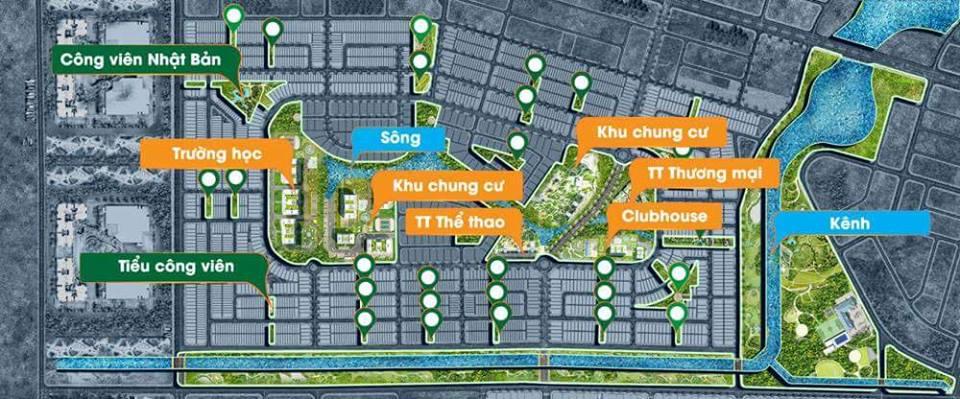 Quy hoạch tổng thể dự án Dragon Smart City