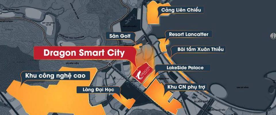Các khu đô thị liền kề dự án Dragon Smart City