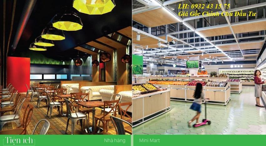 Nhà hàng siêu thị khu đô thị Lakeside