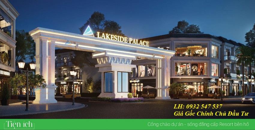 Cổng chào Lakeside Palce Đà nẵng