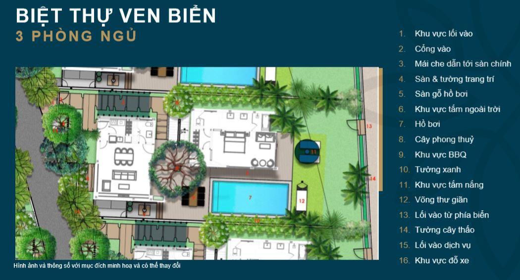 Biệt thự 3 Phòng Ngủ Shantira Beach Resort Spa Hội An