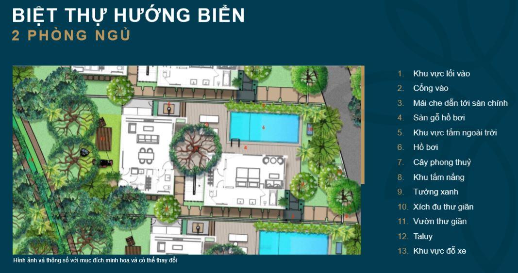 Biệt thự 2 Phòng Ngủ Shantira Beach Resort Spa Hội An