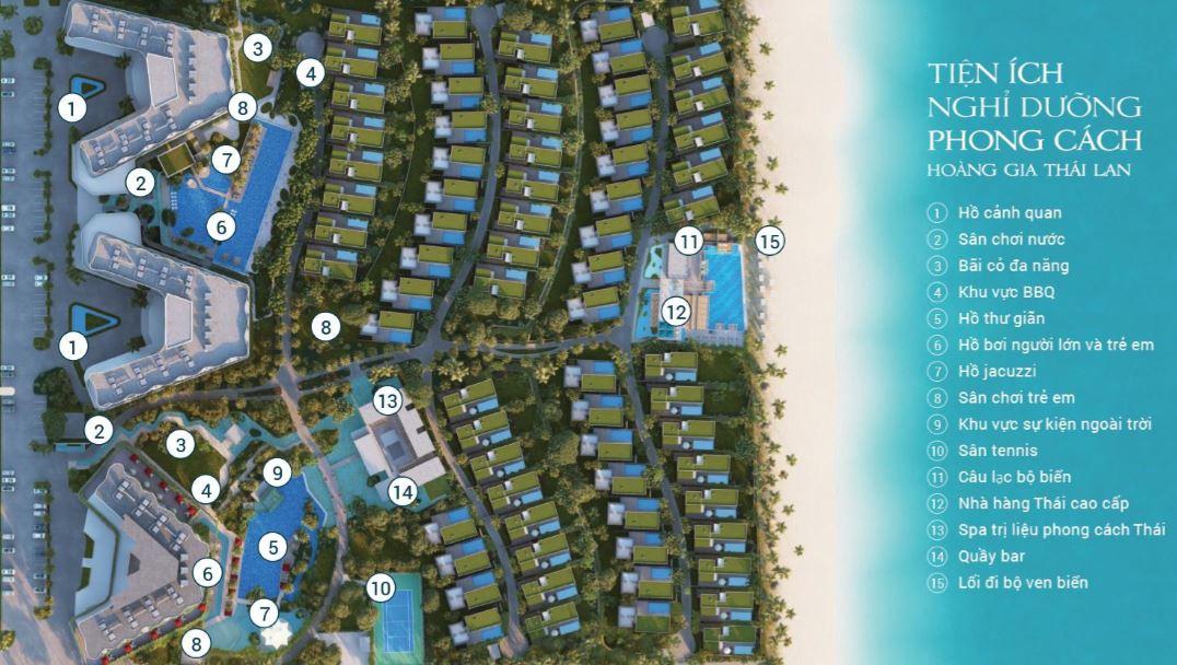 Tiện ích dự án shantira beach resort spa hội an