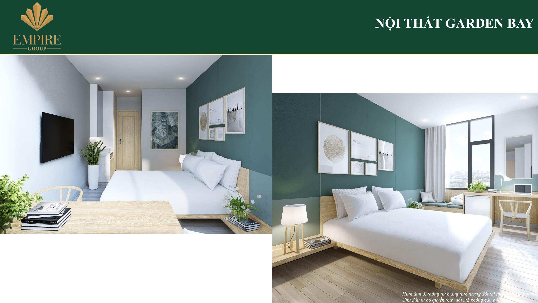 Phòng 1 giường ngủ 3* gardenbay cocobay đà nẵng