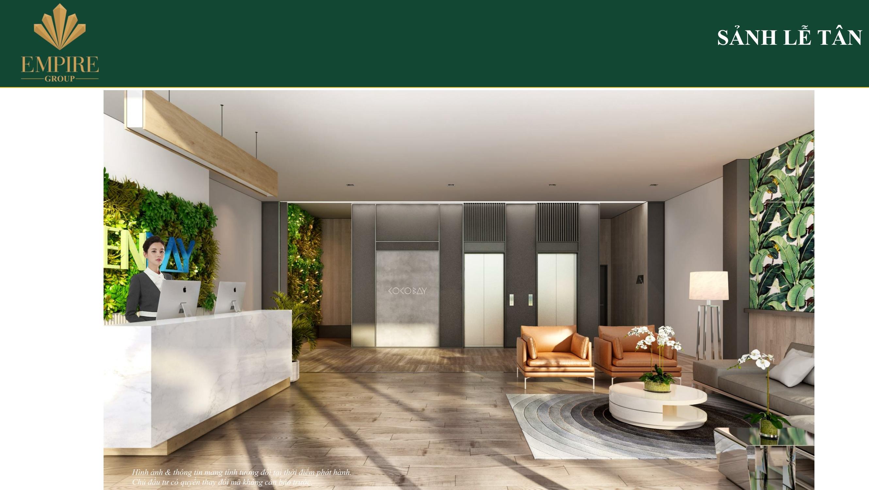 Phòng lễ tân gardenbay hotel cocobay đà nẵng