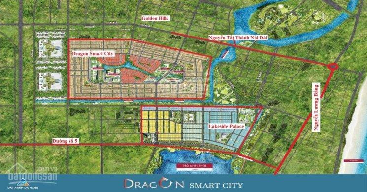 Vị trí dự án Dragon Smart City