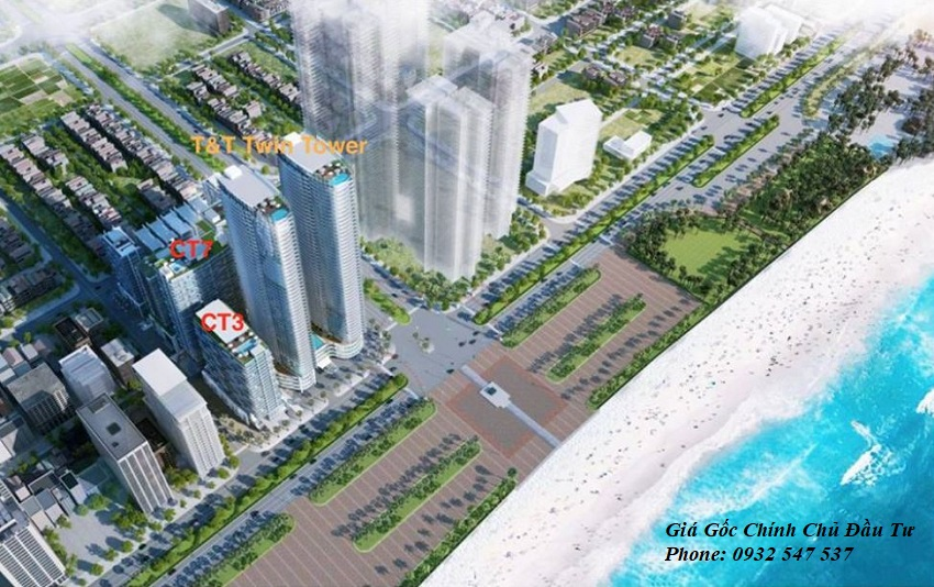 Vị Trí Twin Tower Đà Nẵng